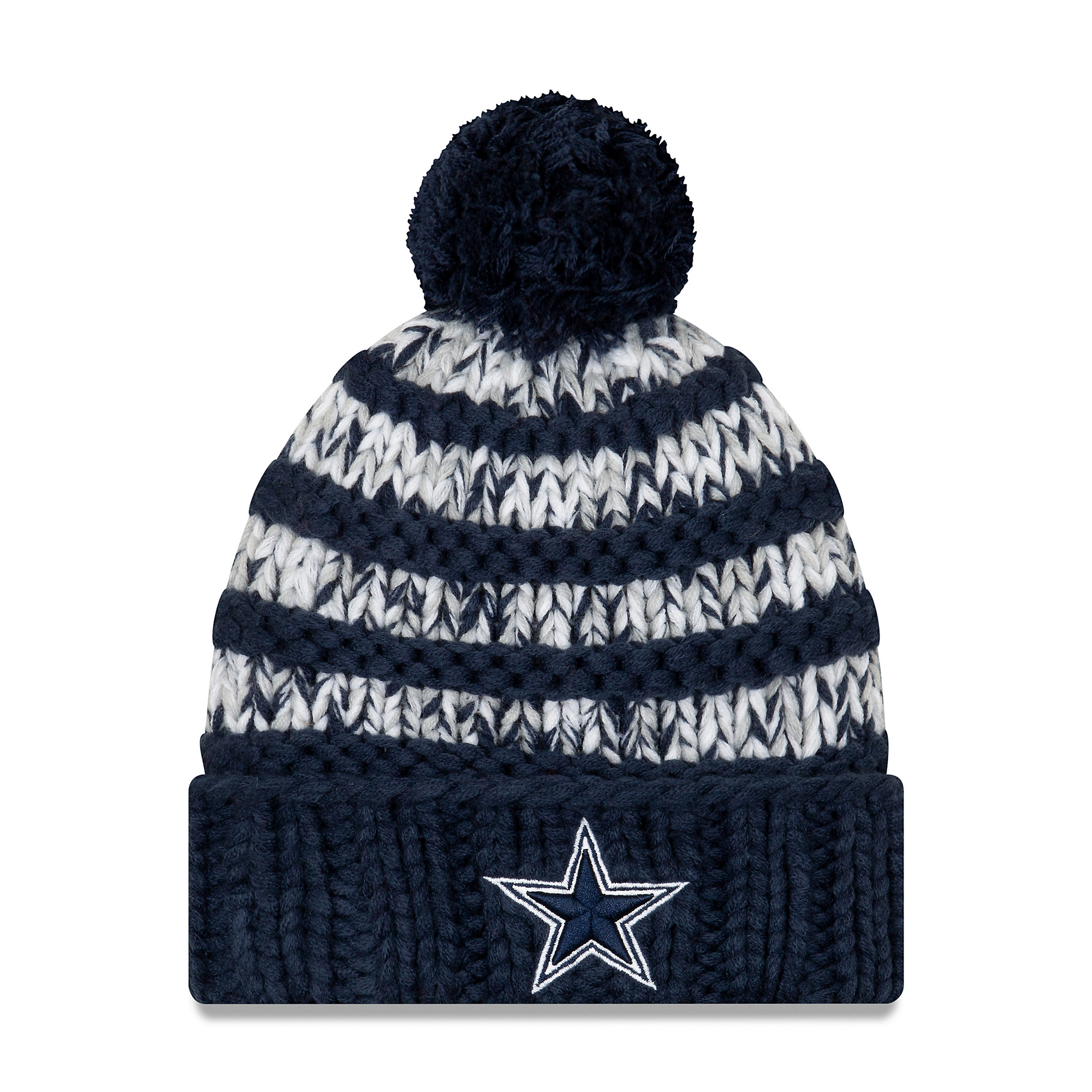 Dallas Cowboys New Era Womens Layer Knit Hat