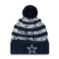 Dallas Cowboys New Era Womens Layer Knit Hat