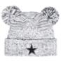 Dallas Cowboys New Era Womens Pom Duel Knit Hat