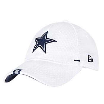 Dallas Cowboys New Era Womens White Training 9Twenty Cap