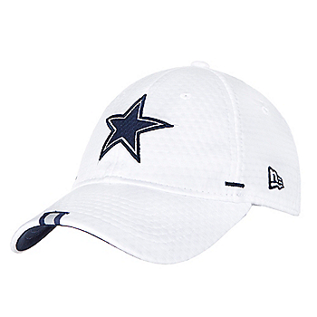 Dallas Cowboys New Era Womens White Training 9Twenty Cap