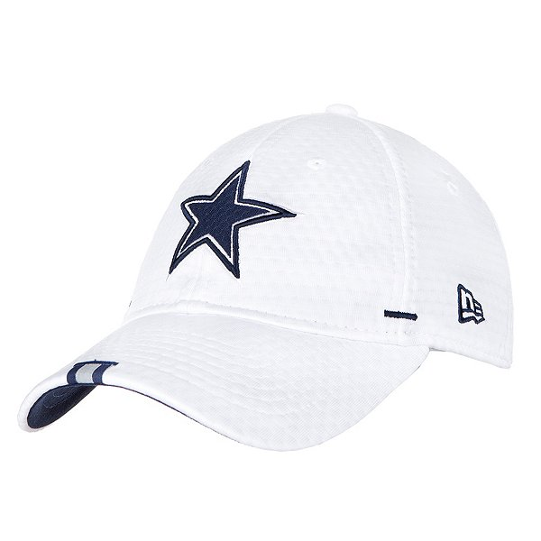 Dallas Cowboys New Era Womens White Training 9Twenty Hat