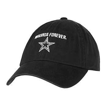 Dallas Cowboys MARVEL Womens Black Panther Wakanda Forever Hat