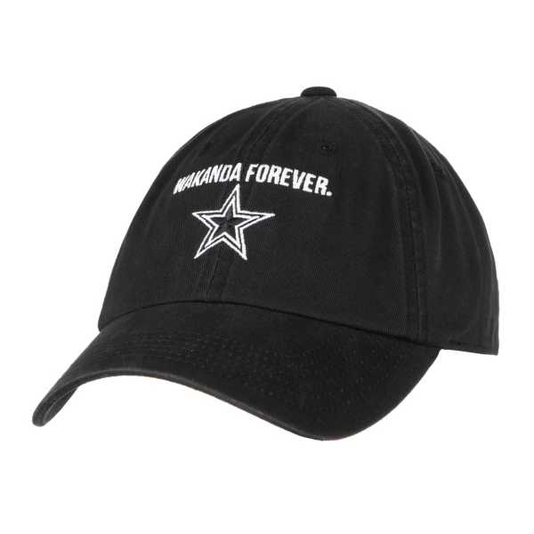 Dallas Cowboys MARVEL Womens Black Panther Wakanda Forever Cap
