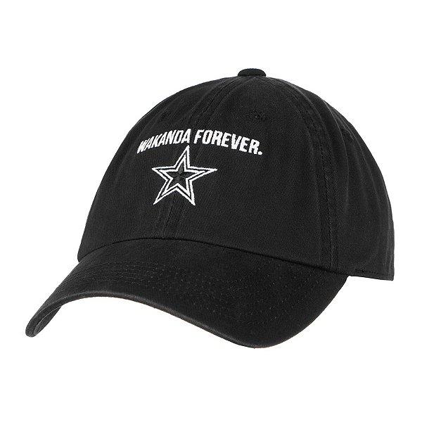 Dallas Cowboys MARVEL Womens Black Panther Wakanda Forever Hat