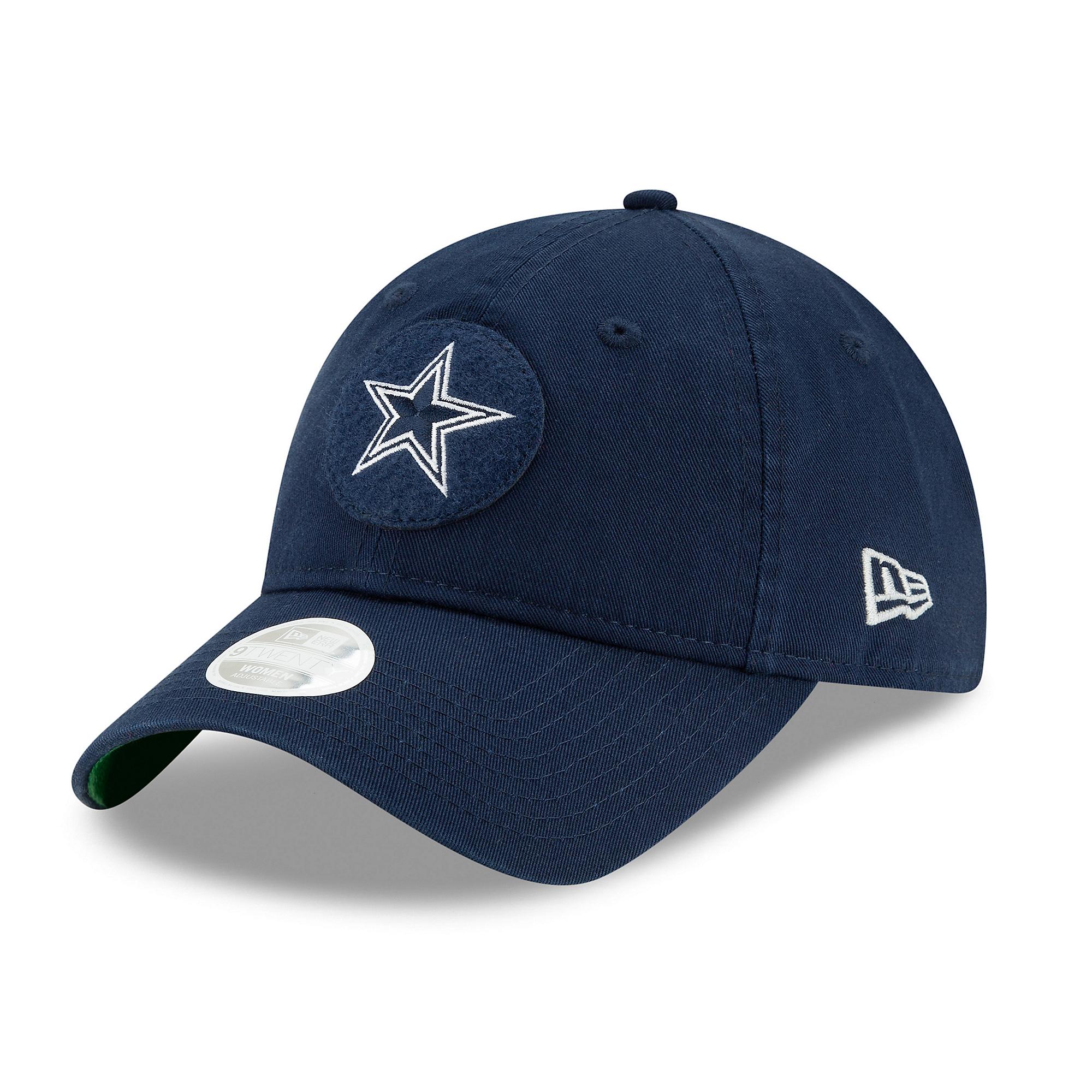 Dallas Cowboys New Era Womens 1920s Sideline 9Twenty Cap