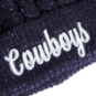 Dallas Cowboys Womens Penrose Knit Hat
