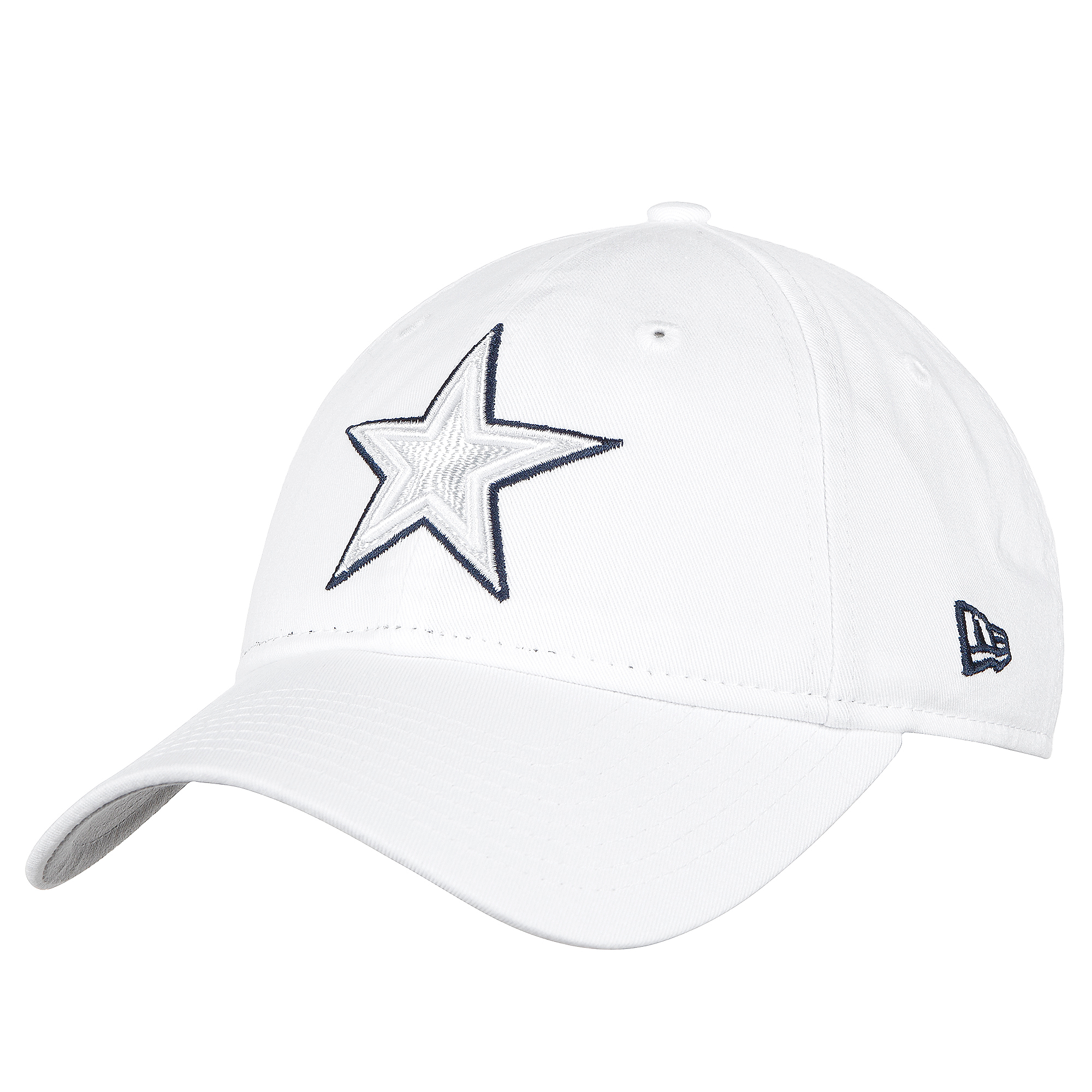 Dallas Cowboys New Era Womens On-Field Platinum 9Twenty Cap