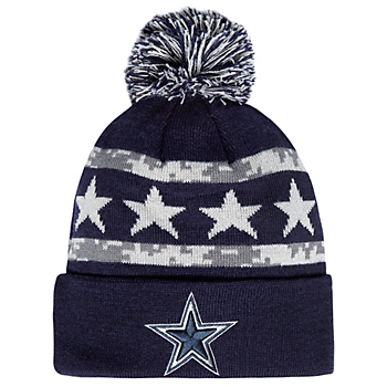 Dallas Cowboys Womens Justice Knit Hat