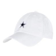 Dallas Cowboys Nike Heritage86 Womens White Washed Cap