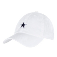 Dallas Cowboys Nike Heritage86 Womens White Washed Cap
