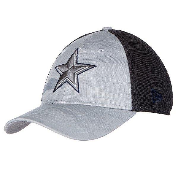 Dallas Cowboys New Era Jr Camo Front Neo 39Thirty Hat