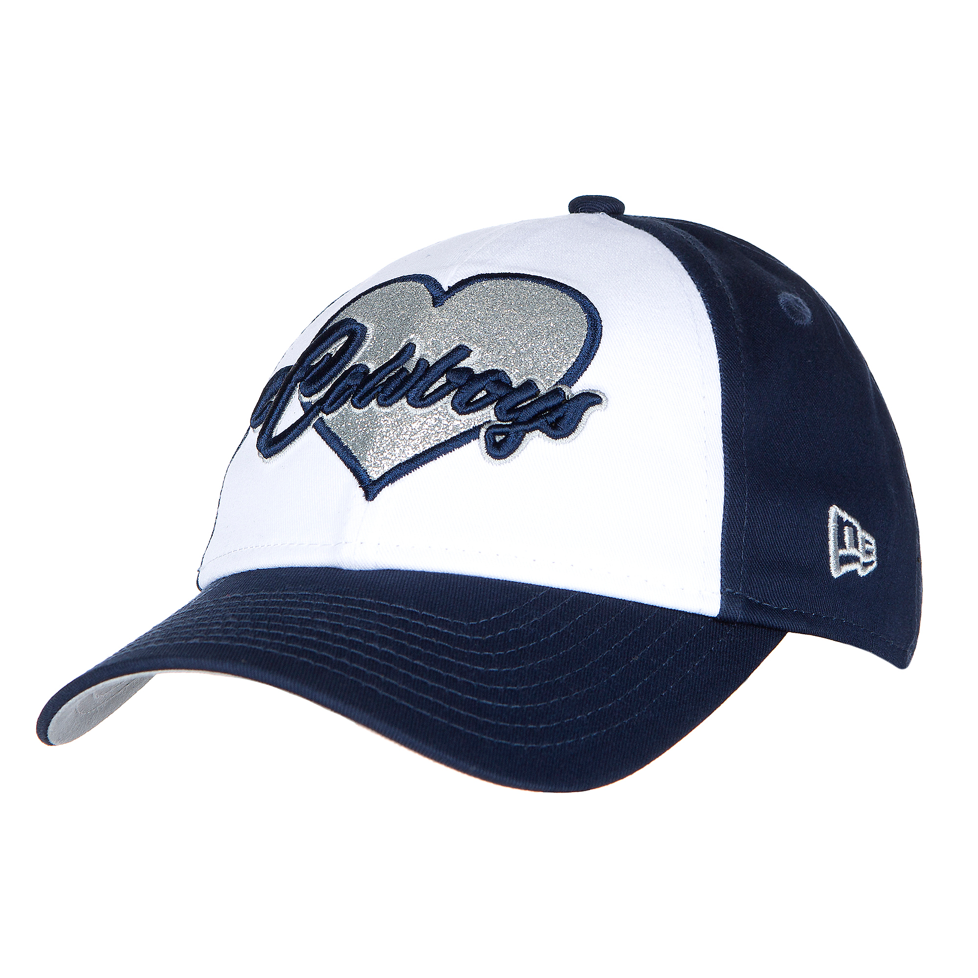 Dallas Cowboys New Era Jr Girls Sparkly Fan 9Twenty Cap