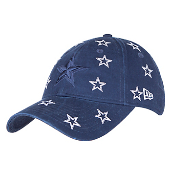 Dallas Cowboys New Era Jr Girls Logo Scatter 9Twenty Cap