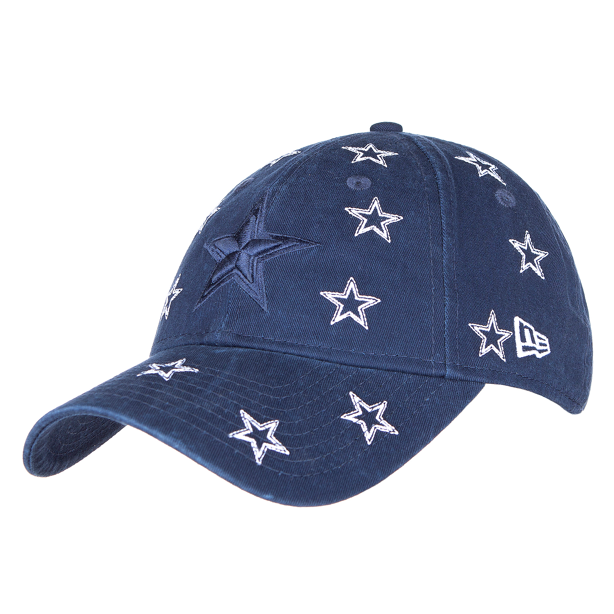 Dallas Cowboys New Era Jr Girls Logo Scatter 9Twenty Hat
