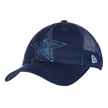 Dallas Cowboys New Era Jr Shined Up Trucker 9Twenty Cap 1f79f365b18b