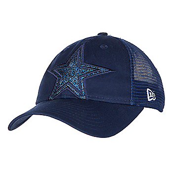 Dallas Cowboys New Era Jr Shined Up Trucker 9Twenty Cap
