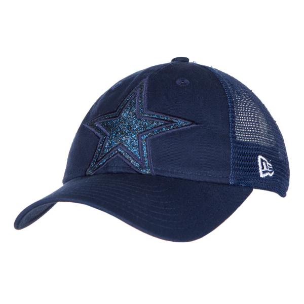 Dallas Cowboys New Era Jr Shined Up Trucker 9Twenty Cap