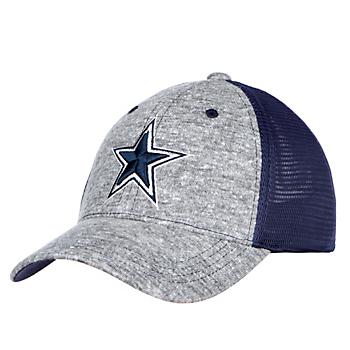 Dallas Cowboys Youth Grey Fox Snapback Hat