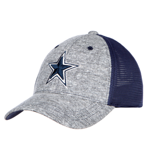 Dallas Cowboys Youth Grey Fox Snapback Hat