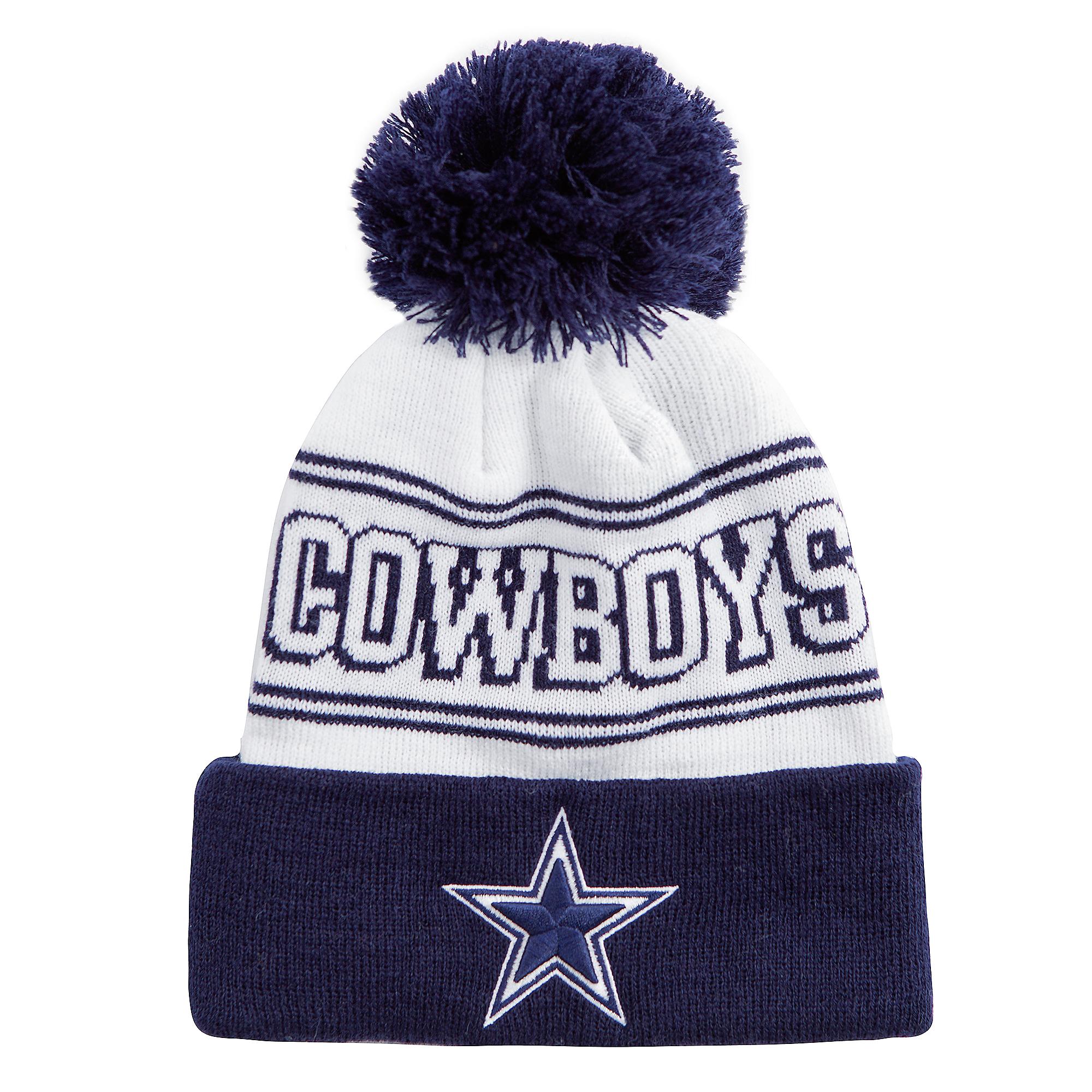 Dallas Cowboys Youth Night Shadow Knit Hat