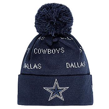 Dallas Cowboys New Era Youth Repeat Knit Hat