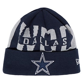 Dallas Cowboys New Era Youth Bold Knit Hat
