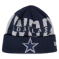 Dallas Cowboys New Era Youth Bold Knit Hat