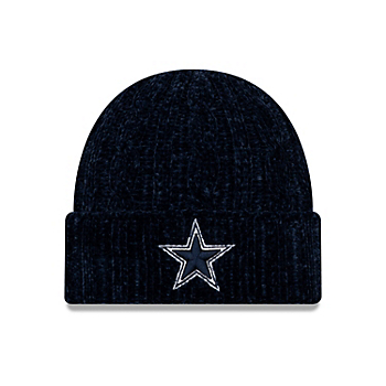 Dallas Cowboys New Era Girls Velour Knit Hat