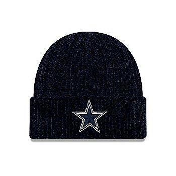 Dallas Cowboys New Era Girls Velour Knit Hat