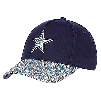 Dallas Cowboys Girls Navy and Silver Roxy Cap