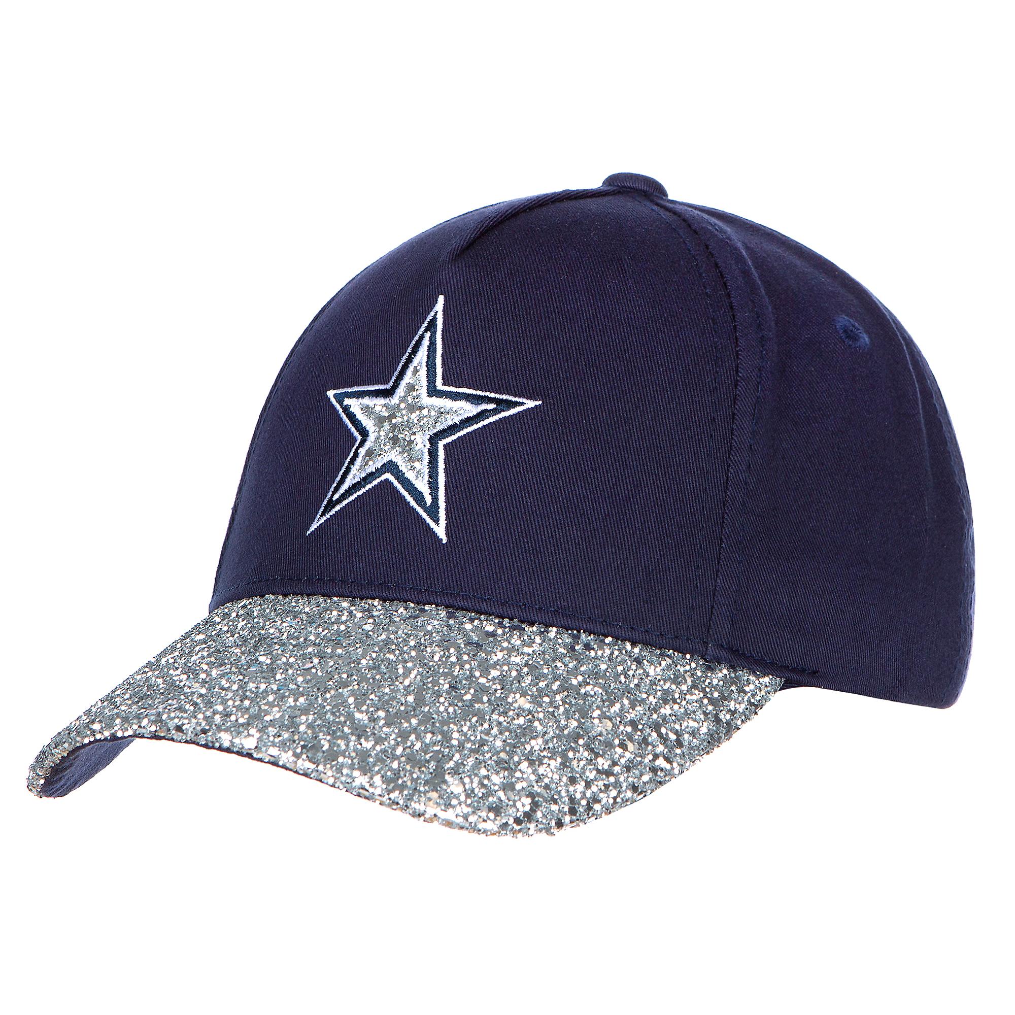 Dallas Cowboys Girls Navy and Silver Roxy Cap