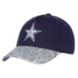 Dallas Cowboys Girls Navy and Silver Roxy Hat