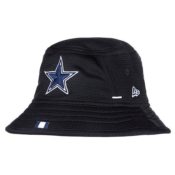 Dallas Cowboys New Era Jr Boys Navy Training Bucket Hat