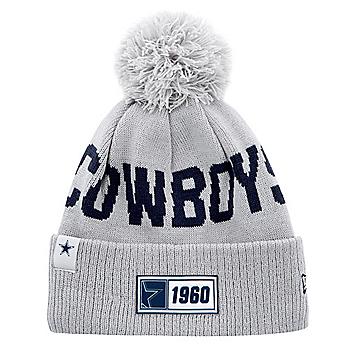 Dallas Cowboys New Era Youth Grey Sport Knit Road Hat