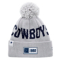 Dallas Cowboys New Era Youth Grey Sport Knit Road Hat