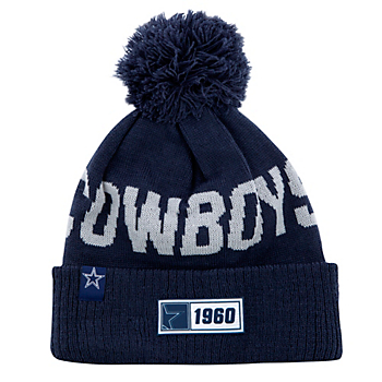 Dallas Cowboys New Era Youth Navy Sport Knit Road Hat