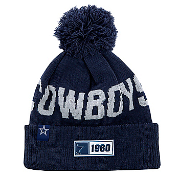 Dallas Cowboys New Era Youth Navy Sport Knit Road Hat