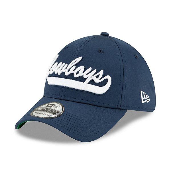 Dallas Cowboys New Era Jr Boys On-Field Sideline Home 39Thirty Hat