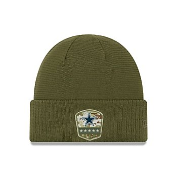 Dallas Cowboys New Era Salute to Service Youth Knit Hat