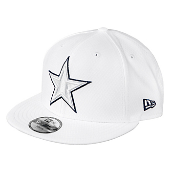 Dallas Cowboys New Era Jr Boys On-Field Platinum 9Fifty Cap