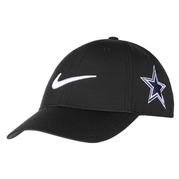 Dallas Cowboys Nike Youth Black Golf Cap