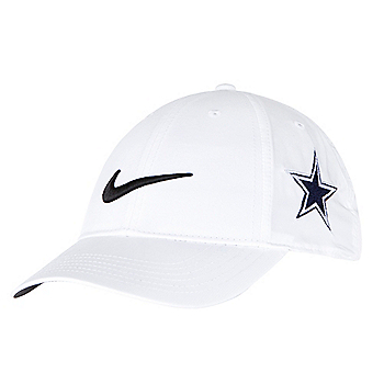 7ed3ecbe6660 Dallas Cowboys Nike Youth White Golf Cap