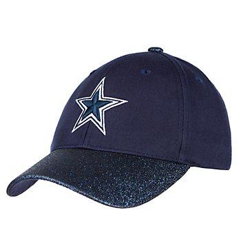 Dallas Cowboys Girls Powder Adjustable Hat