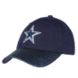 Dallas Cowboys Girls Powder Adjustable Hat
