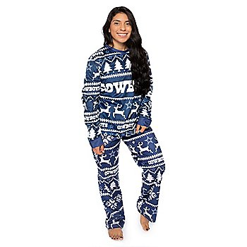 Dallas Cowboys Womens Family Holiday Pajama Set