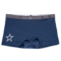 Dallas Cowboys Tommy John Womens Second Skin Gunmetal Boyshort