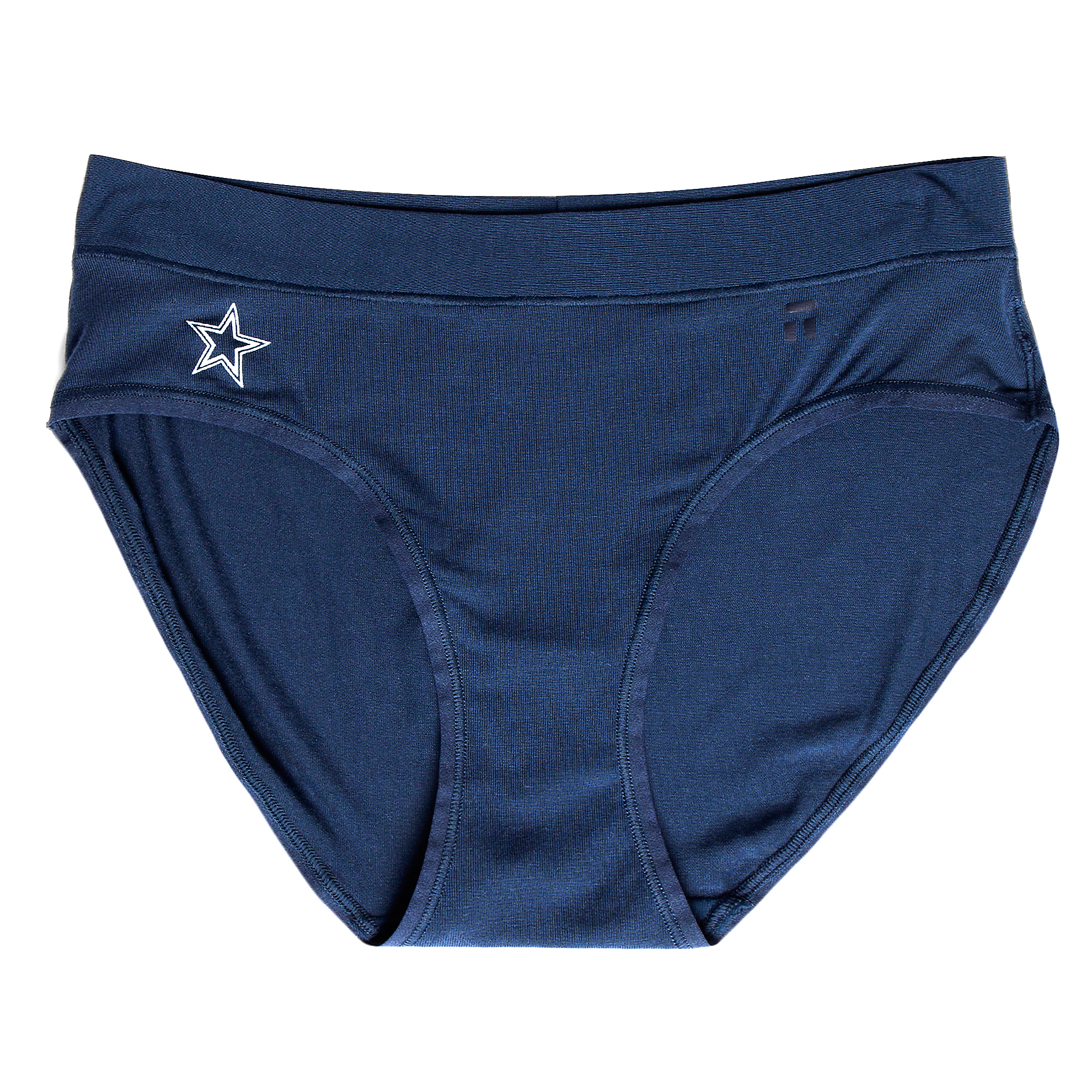 Dallas Cowboys Tommy John Womens Navy Second Skin Brief
