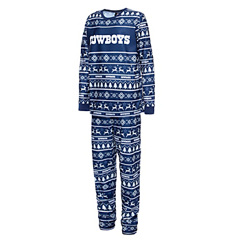 Dallas Cowboys Kids Family Holiday Pajama Set