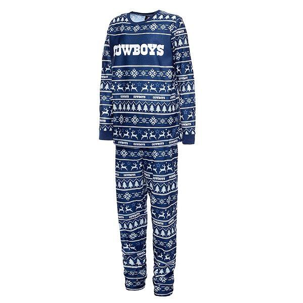 Dallas Cowboys Kids Family Holiday Pajama Set